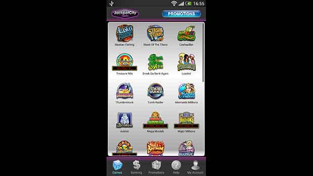 JackpotCity-Mobile-Casino-Lobby-Screenshot